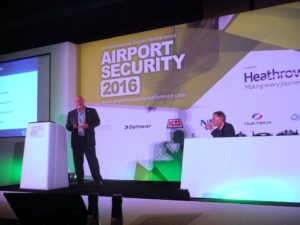 Mr. Johnathan Tal at Airport Security 2016