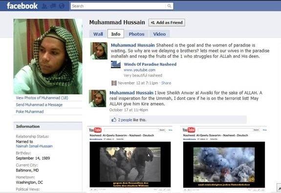 Terror on Facebook